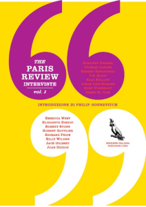 the paris review cop.